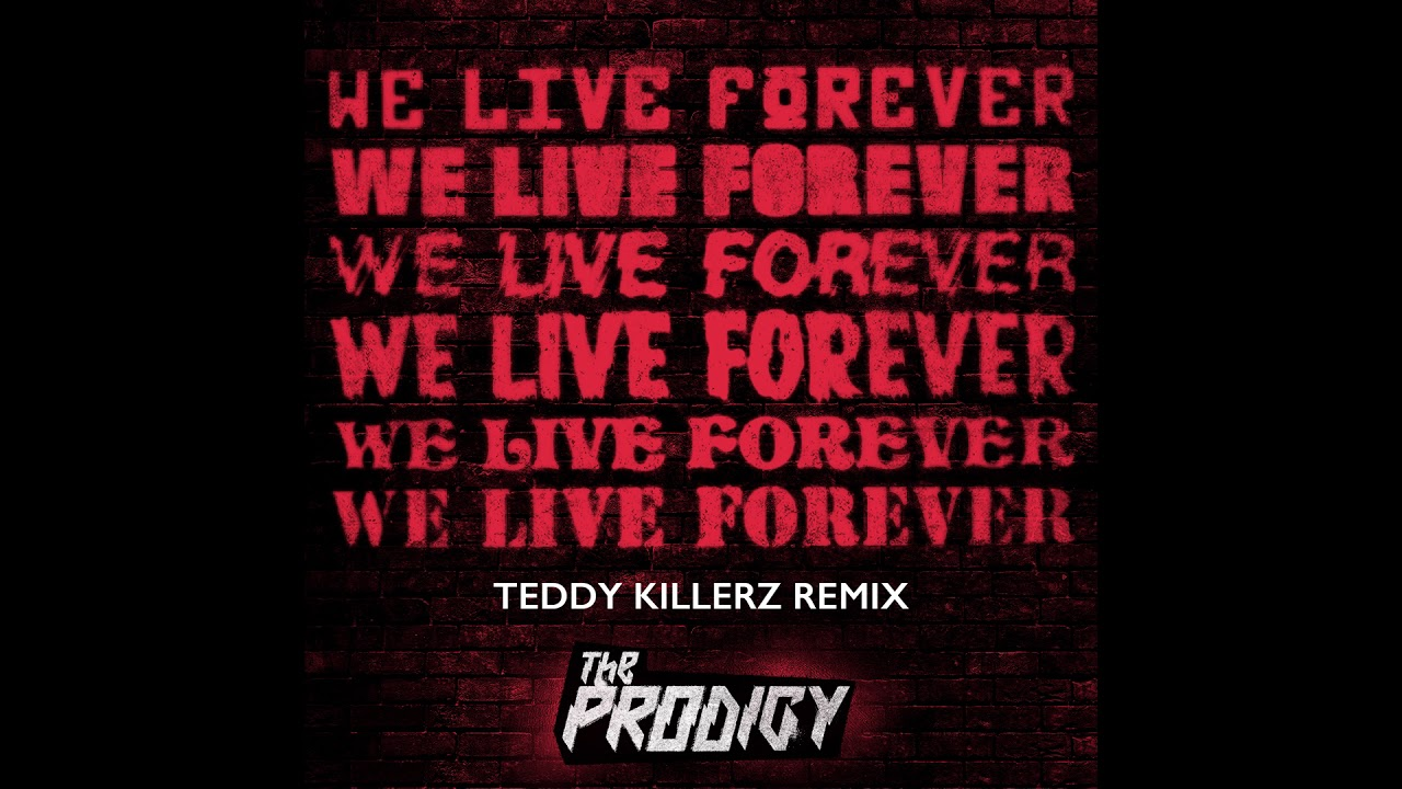 Image result for Teddy Killerz Remix The Prodigy - We Live Forever (Official Audio)