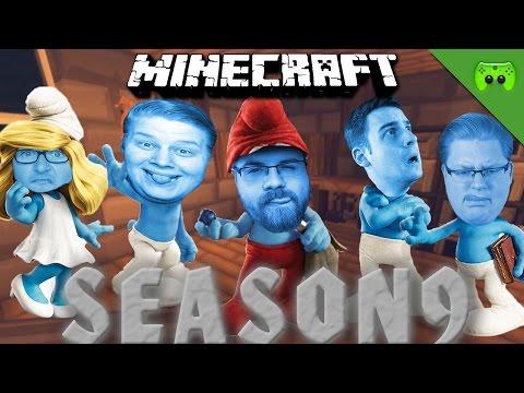 WIE SCHMECKEN SCHLÜMPFE 🎮 Minecraft Season 9 #93
