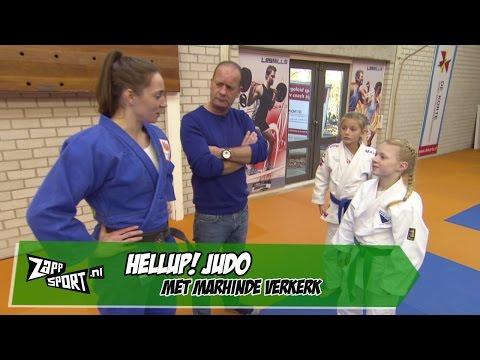 HELLUP! Judo met Marhinde Verkerk | ZAPPSPORT