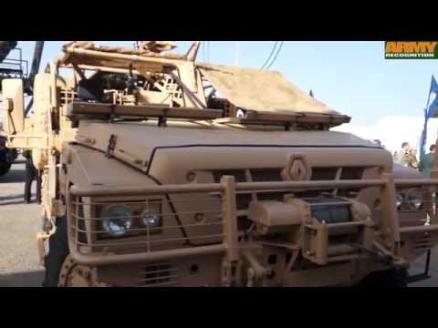 Sherpa Light SF Special Forces 4x4 armoured vehicle Renault Trucks Defense Marc Chassillan SOFINS