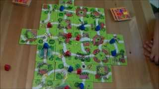 My First Carcassonne - Z-Man Games - How To & Play Through with Miss Pic