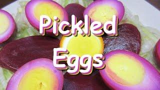 Pickled Beet Eggs ~ Pennsylvania Dutch Pickled Egg Recipe
