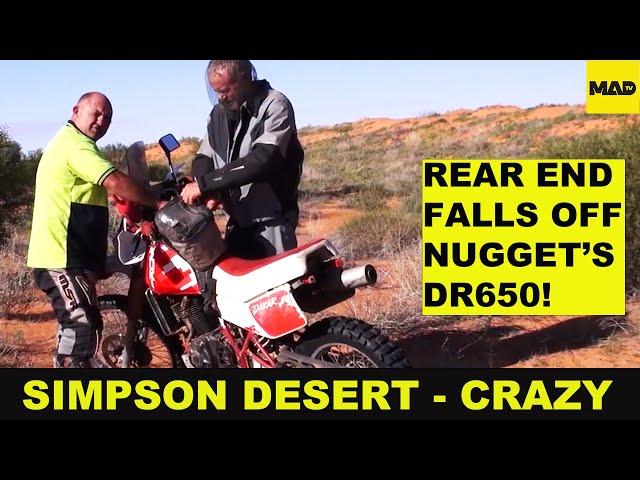 Motorcycle Adventure - Unassisted Desert Crossing