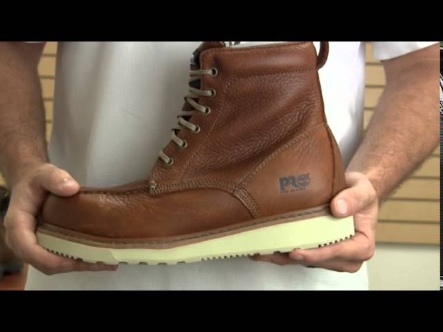 Timberland Pro Wedge Sole 6 Inch Soft