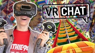 HOW TO GET MOTION SICK IN VIRTUAL REALITY!   VRChat (HTC Vive Gameplay)