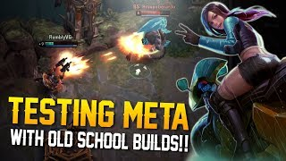 TESTING META WITH OLD BUILDS!! Vainglory 5v5 Gameplay - Skye |WP| Top Lane Gameplay