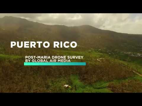 Post-Hurricane Drone Mapping in Puerto Rico | Global Air Media