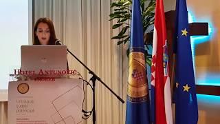 Zorica Šarić Gradski ured za branitelje na Konvenciji društveno poduzetništvo hrvatskih branitelja