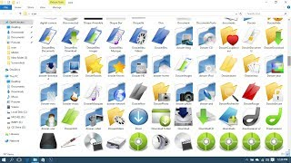 how to customize folder icons windows download icon pack free