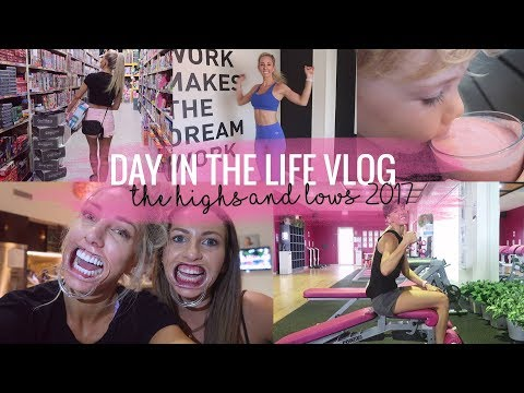 Day in the life VLOG - Highs and Lows 2017 - sharing something personal.