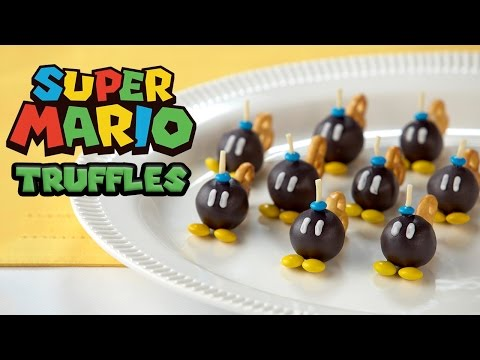 Super Mario Bob Omb Truffles Nerdy Nummies Youtube