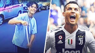 When Cristiano Ronaldo begged for food at McDonald's | Oh My Goal