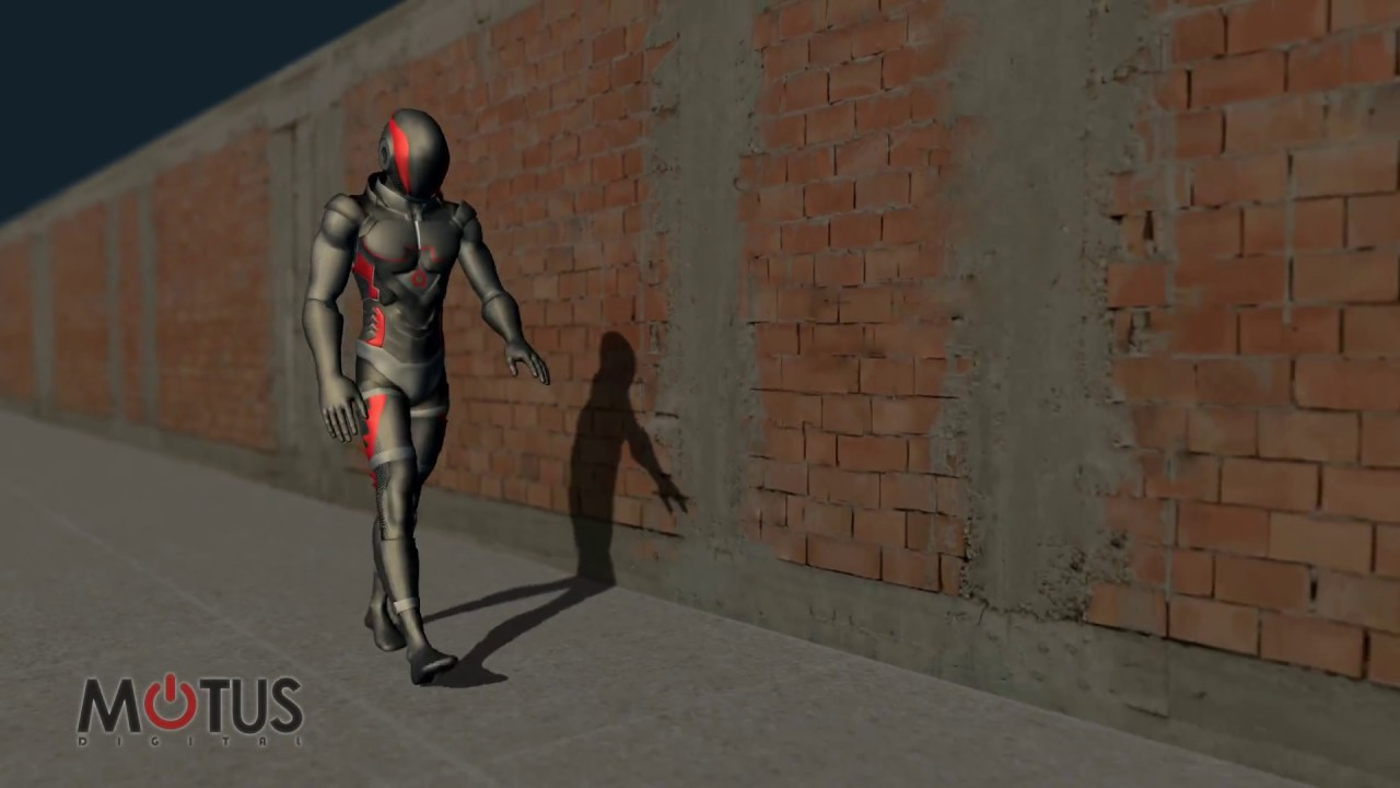 Walking Life Animations from MoCap Online