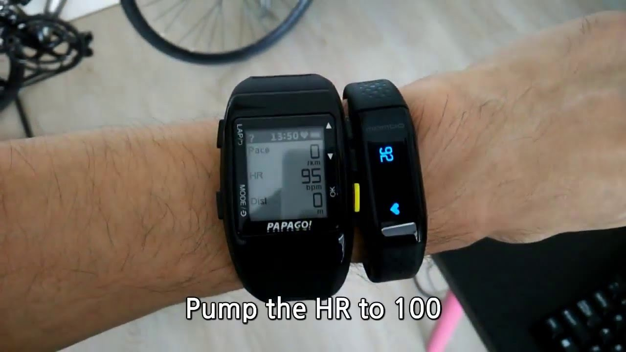 Watch with wrist hrm - Chest Strap Hrm Vs Mambo Hr Chinese Smart Band