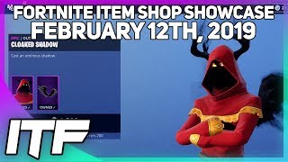 Fortnite Item Shop CLOAKED SHADOW IS BACK! [February 12th, 2019] (Fortnite Battle Royale)