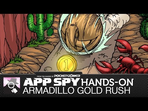 Armadillo Gold Rush   iOS iPhone / iPad Hands-On