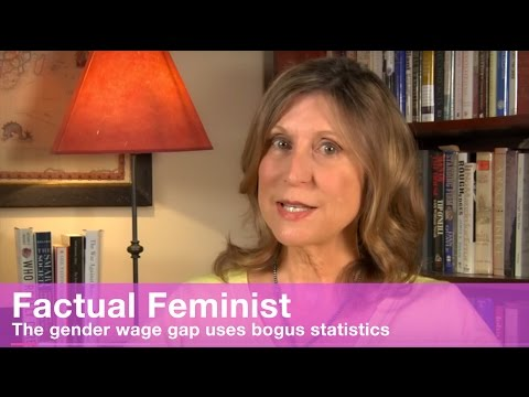 The gender wage gap uses bogus statistics | FACTUAL FEMINIST