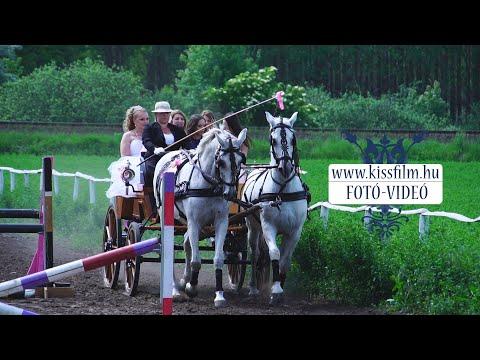 Cinó és Gyuri lovas esküvő/KISSFILM.HU