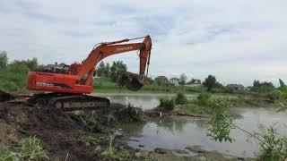 Очистка деревенского пруда - Селькин пруд, часть 1