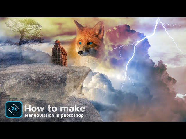 How to make manipulation In Photoshop