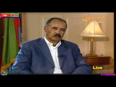 Eritrea New President Isaias Afeworki Interview 10/07/2017