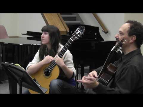 Margaret Koev master class with William Kanengiser