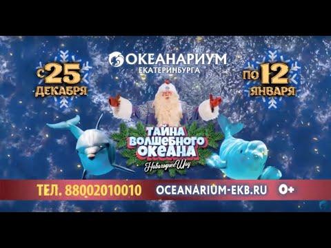 Новогоднее шоу 2020 в Океанариуме Екатеринбурга