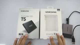 Samsung T5 Portable SSD Drive Overview & How I use It