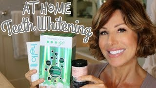 At Home Teeth Whitening with Gorgeous Results | Dominique Sachse