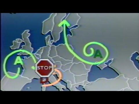 bulletin météo de Brigitte Simonetta sur le nuage radioactif de tchernobyl