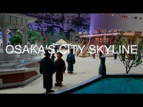 Osaka's city skyline