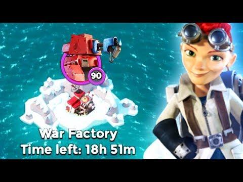 Boom Beach ALL Scorchers vs War Factory! Will this work?!