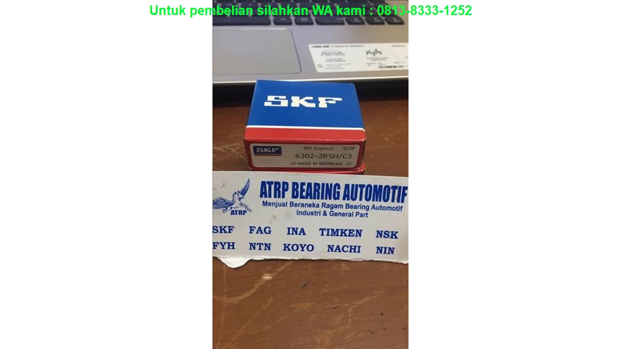 BALL BEARING 6302 2RSH/C3 SKF