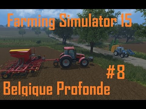 [Dansk] Farming Simulator 15 - Belgique Profonde #8 Alt går galt