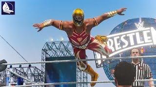 The Incredible Moveset of GRAN METALIK in WWE 2K18