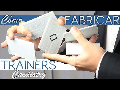 Cómo Fabricar Tus Trainers de Cardistry de Forma Fácil y Económica (Y Encima Molan)