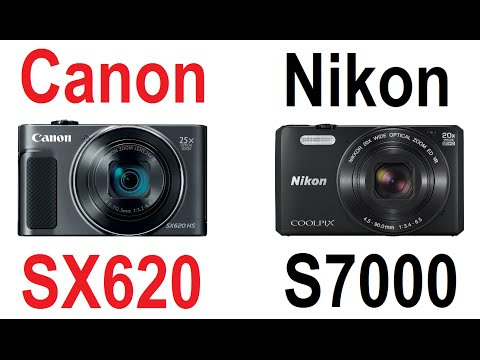 Canon PowerShot SX620 vs Nikon Coolpix S7000