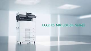 The New KYOCERA ECOSYS M8130cidn Series