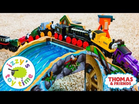 Fun Toys for Kids | Thomas and Friends | Thomas Train Lumber Yard Waterfall Pretend Play