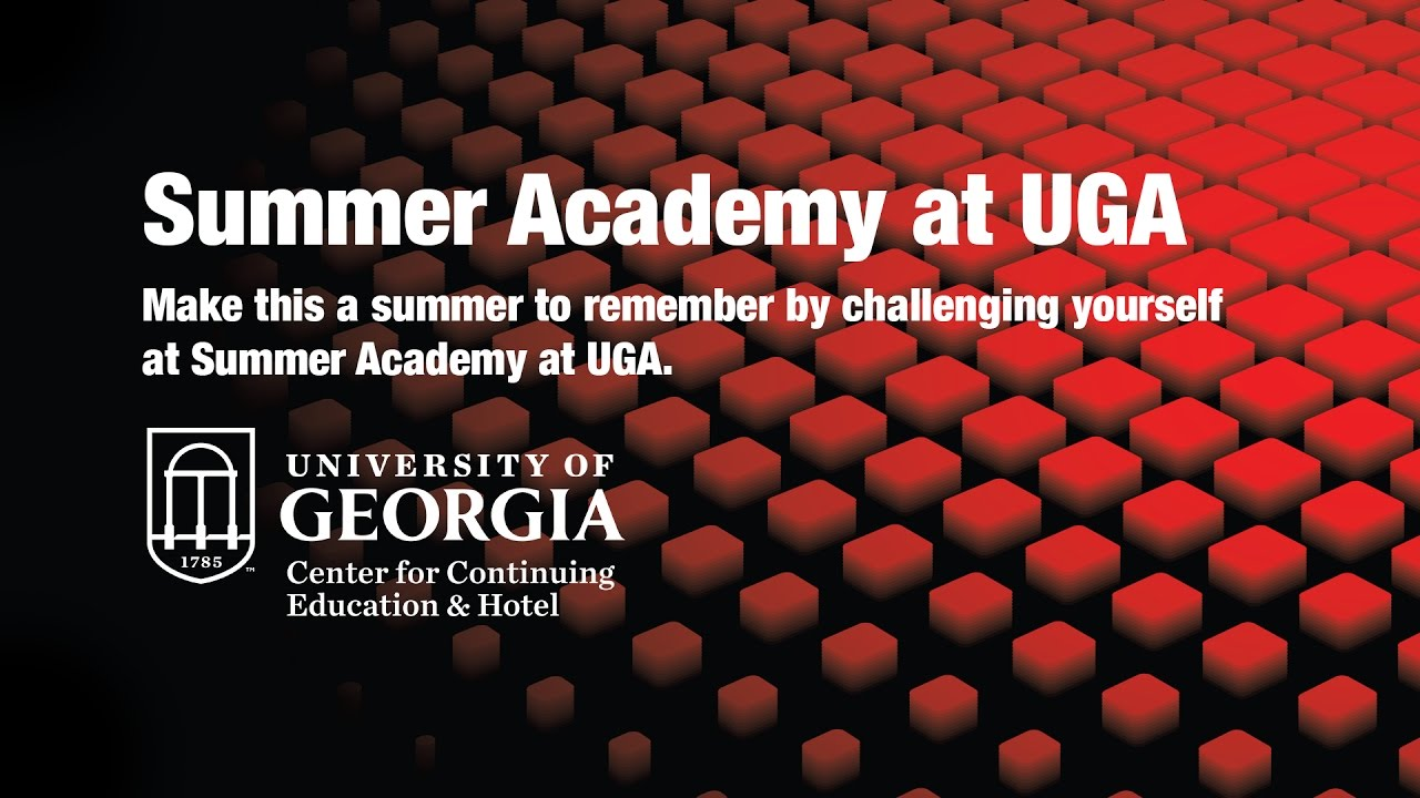Summer Academy Camps at University of Georgia