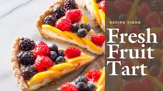 How to Make a Fresh Fruit Tart with Cook's Illustrated Editor Lan Lam