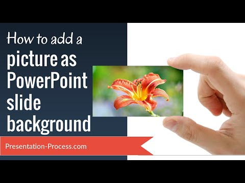 How to make background design in ppt from picture your slide