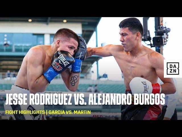 FIGHT HIGHLIGHTS   Jesse Rodriguez vs. Alejandro Burgos