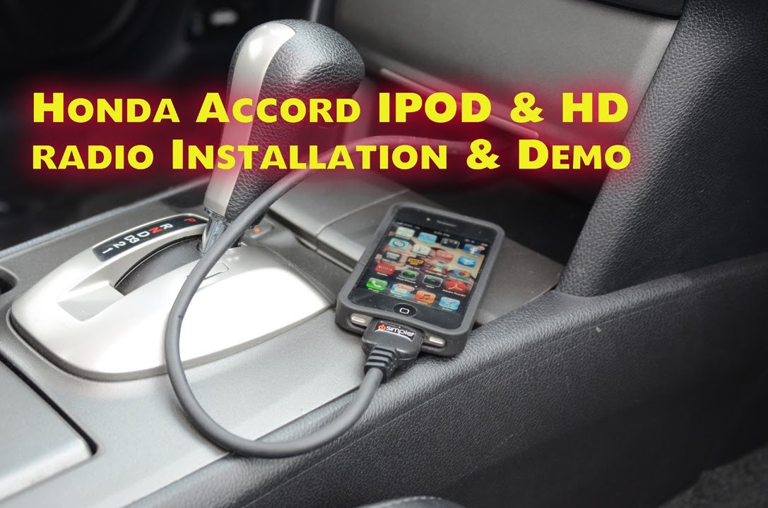 Honda Accord Ipod Amp Hd Radio 2008 2012 Aux Isimple Pxamg