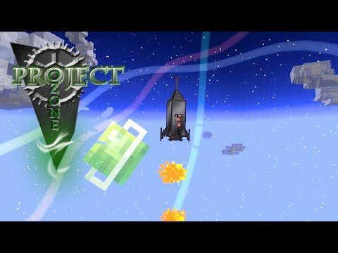 Minecraft Mods Project Ozone - SPACE STATION [E37] (Modded HQM Sky Block)