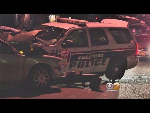 Stolen Cop Car In Freeport