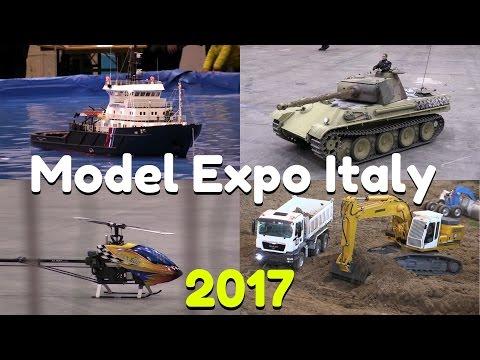 Model Expo Italy 2017 - Verona - Highlights! - Boats, trucks, RC drift, trains & more!
