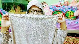 খেমার হলো হিজাব সহ বোরকা,দেখতে কেমন? 🧕🧕A Unique Design Borka /Bangladeshi mom vlog