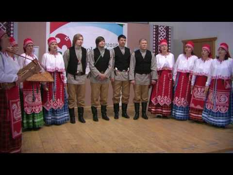 Вепский народный хор в дер.Вокнаволок.Сорока.