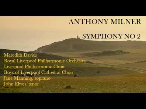 Anthony Milner: Symphony No 2 [M. Davies-RLPO] premiere